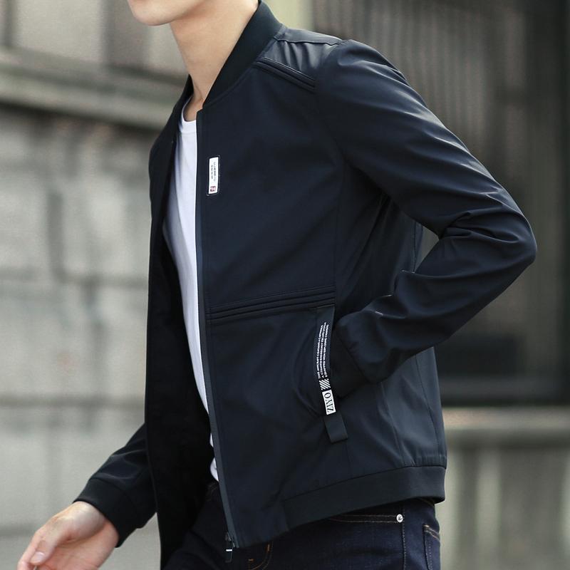 外套男春秋2018春季新款韩版潮流修身帅气薄衣服休闲男装春装夹克