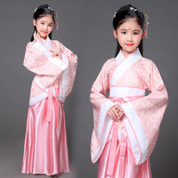 Children's Day Children's Costumes Tangzhuang Girls Costumes Fairy Costumes Costumes Ancient Princess Guzheng Hanfu Chaise Costumes
