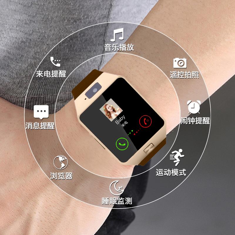 儿童打电话手表学生成人用智能手机音乐拍照蓝牙配对小米华为苹果