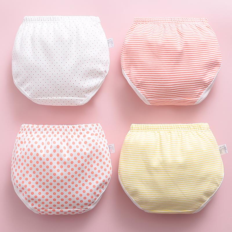 婴儿童纯棉小内裤女宝宝1-3岁女童0女宝2婴幼儿小童面包裤不夹pp