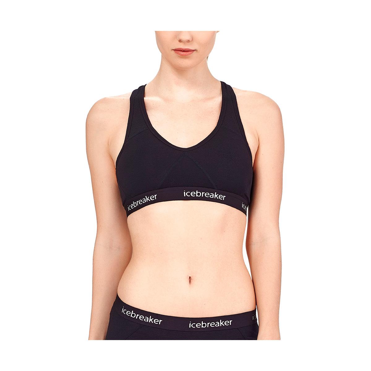 icebreaker内衣女运动胸衣瑜伽健身bra文胸排汗透气防异味103020