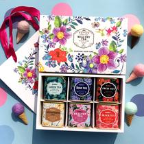 花茶礼盒装组合菊花茶水果茶花草茶组合玫瑰花茶组合