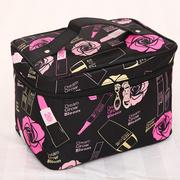 大号旅行大容量少女心化妆包社会女化妆箱便携韩国简约收纳包收纳