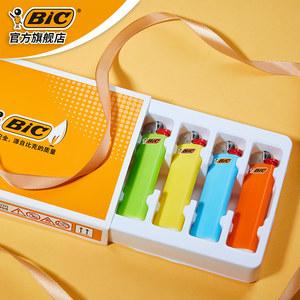 [第二件0元]法国比克品牌bic8支礼盒J3一次性防爆砂轮打火机