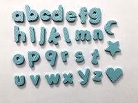 EVA full set of magnetic lowercase letters, for children