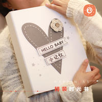 Once Baby Baby Growth Album Album Pregnancy Diary diy Baby Record Book Brochure Child Gift