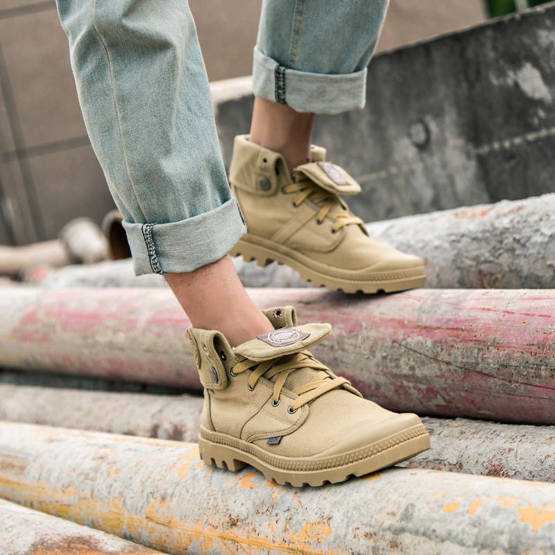 法国男高帮鞋