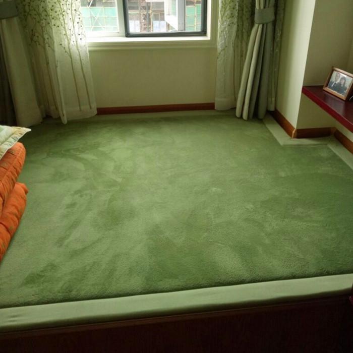 日式加厚榻榻米垫宝宝爬行垫卧室客厅炕垫幼儿园蓝色地毯床边防摔
