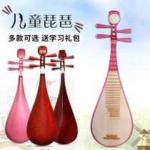 琵琶乐器儿童初学者专业民族乐器送指甲配件免费设计刻字雕花