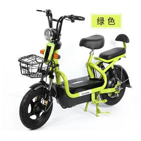 全新非二手迷你48V电动车成人电池电动自行车电瓶车脚踏代步车