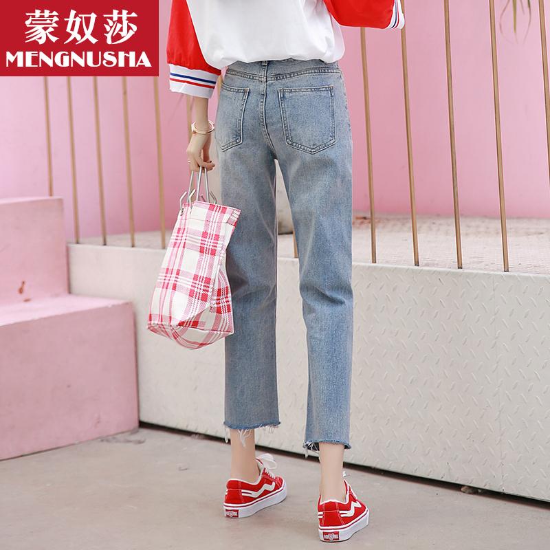 春季女仔裤女