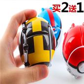 口袋精灵球神奇宝贝球玩具爆裂球皮卡丘宠物小精灵蛋球男孩玩具球