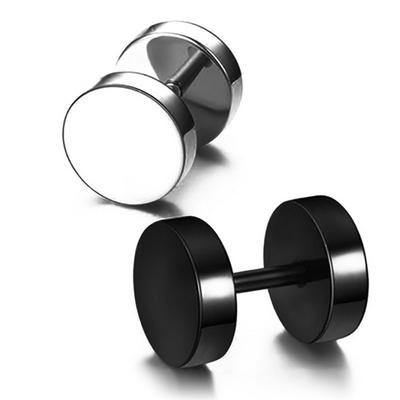 耳钉男钛钢韩版气质单只韩国个性潮男学生创意黑色耳扣女男士耳环