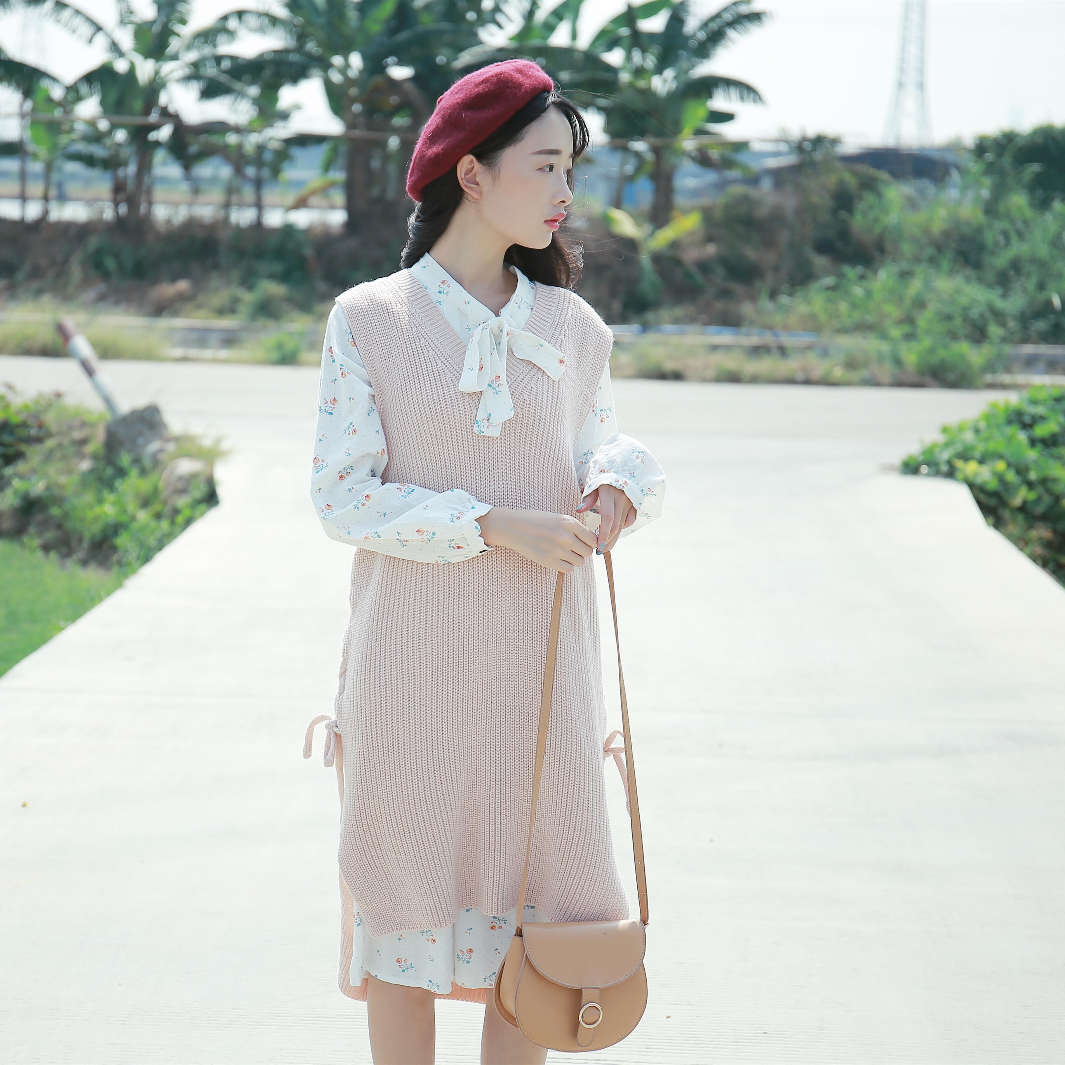 套裙针织长袖