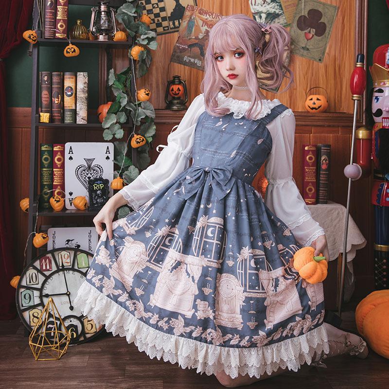 原創 豌豆姬的考驗 洛麗塔洋裝連衣裙日常甜美公主裙Lolita連衣裙