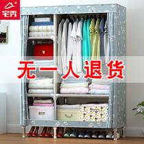 三双门儿童房小女孩白色实木柜子卧室3四4二2韩式田园衣柜