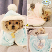 Packaging ~Warm and Practical ~Pet Blanket, Cloak, Nightgown ~Dog Teddy Yorkshire Panda Clothes