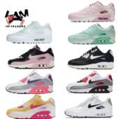耐克女鞋Air Max 90气垫跑步鞋 325213-059-138-060-419-139-702