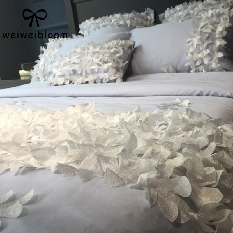 床上四件套花朵