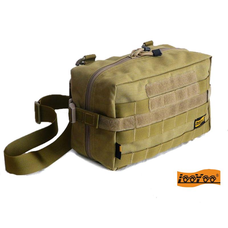 路游A76 超大molle配件包附件包EDC单肩背包休闲旅行包 军规尼龙
