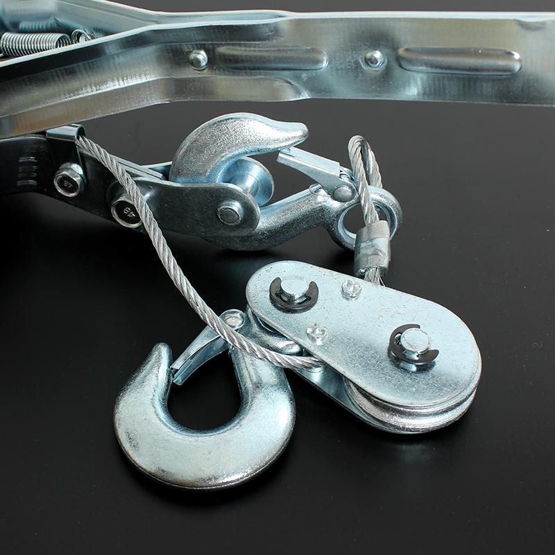 TANKSTORM钢丝绳拉紧器拉紧器2T4荷缔机收紧器电力卡线器