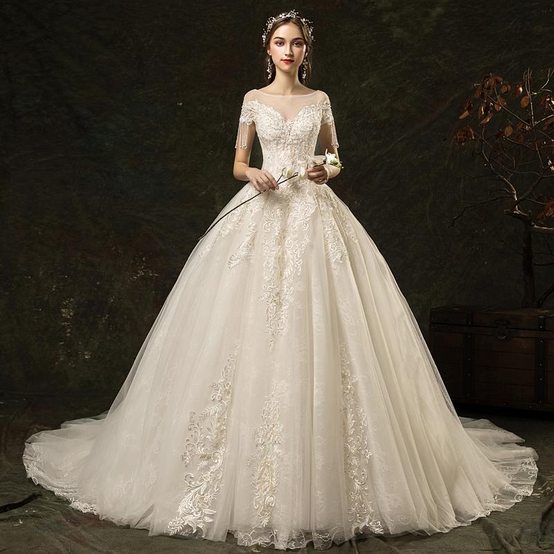 露唯莎LVS904新娘礼服