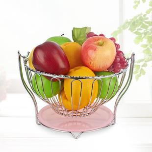 收纳水果篮送礼果盘佳品果篮置物架客厅创意家居用品零食家用沥水