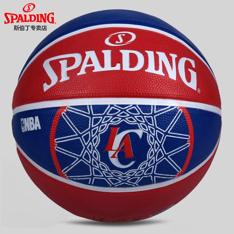 斯伯丁队徽篮球