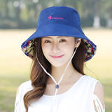 2019 children spring and summer new visor outdoor folding too fisherman hat double sided electric car raincoat