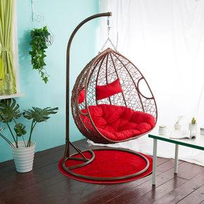 阳台鸟巢吊篮藤椅单人成人摇摇椅双人室内欧式多功能吊床客厅秋千