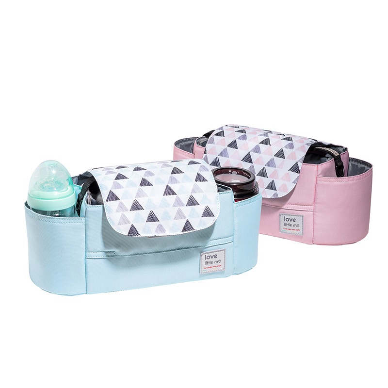 婴儿车挂包收纳包袋挂袋多功能通用大容量置物袋婴儿推车挂钩挂包