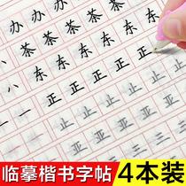 字名家手写体临摹描字帖张神农正版大人行书连笔字硬笔练字速成