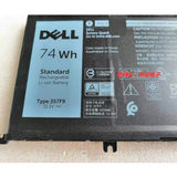 Original Dell Cruise 15 7000 7559 7566 7567 7759 357F9 P65F 7557 Battery