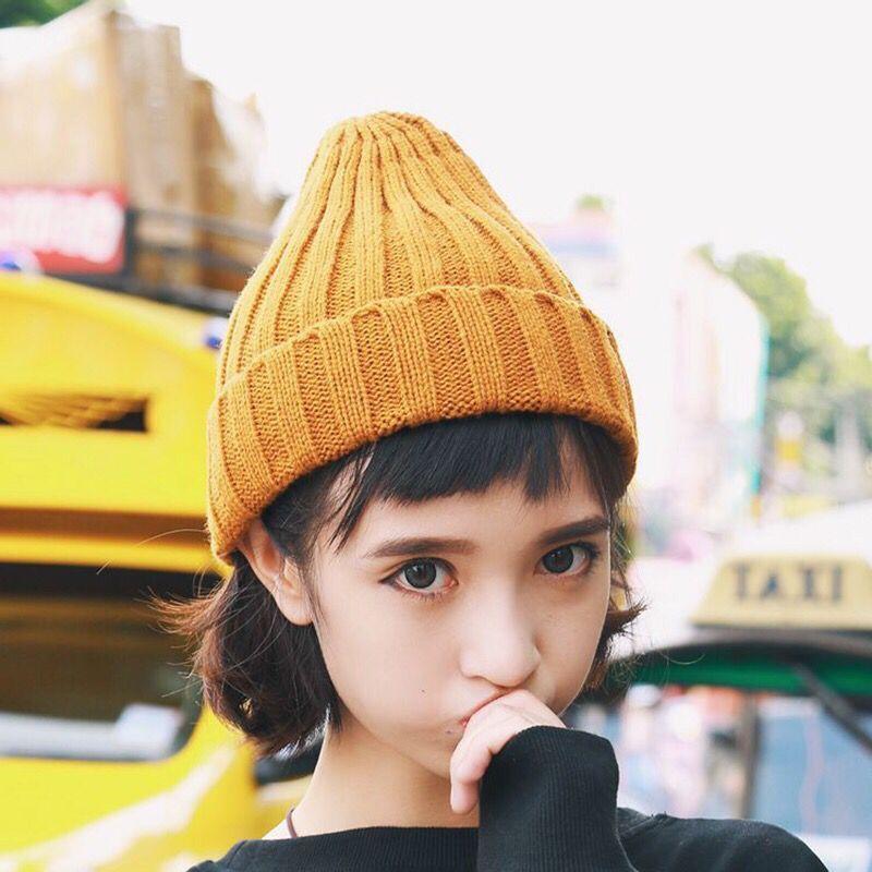 儿童宝宝毛线帽套头帽