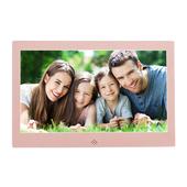 新款窄边框高清10寸数码相框玫瑰金土豪金电子相册 可做高清接口