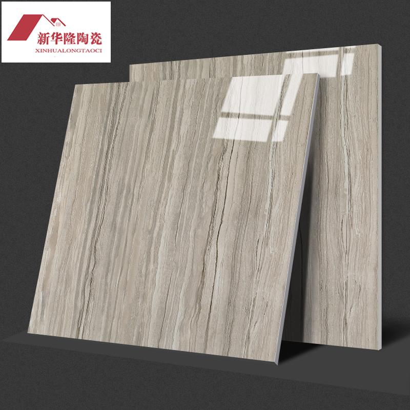 灰白木纹金刚釉 瓷砖地砖800X800客厅卧室地板砖现代大厅背景墙砖