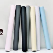 平16.5壁纸墙纸可擦洗北欧风格地中海灰蓝色细布纹客厅LG现货韩国