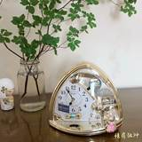 Authentic Japanese RHYTHM Lisheng clock animal kingdom garden living room bedroom children's room student 4SE504