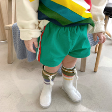 JOO.C Children's Clothes Pure Cotton Breathable Baby Sports Shorts 2019 New Spring Clothes Outside Westernized Children's Trousers Summer
