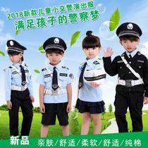 儿童警察服黑猫警长衣服儿童警装备全套军装特种兵服装警官工作服