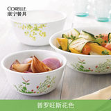 Corelle Corning Tableware Dishes Set Household Heat-resistant glass bowl Provence 32 pieces to Corning pot
