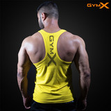 Muscle Dog Brothers'New Training Sleeveless Sports I-shaped Vest for Men's Fitness