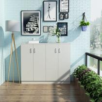 防晒阳台柜储物柜大容量衣柜带门置物柜多功能收纳杂物鞋柜玄关柜