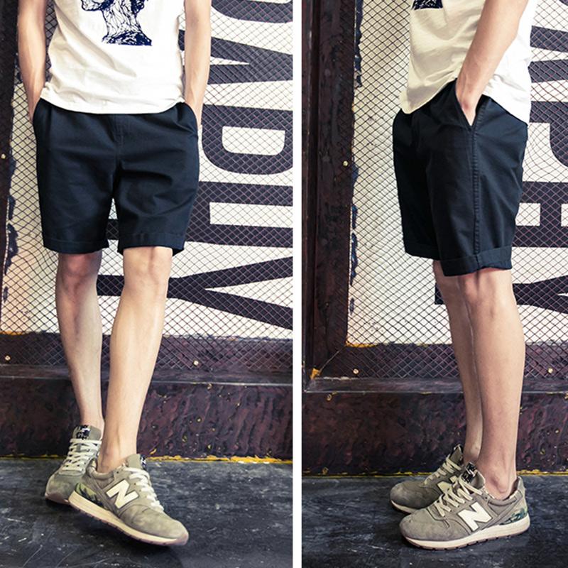 纯色简约短裤