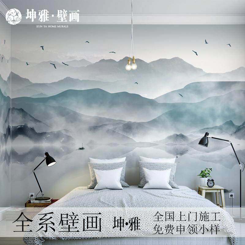 中式客廳風景