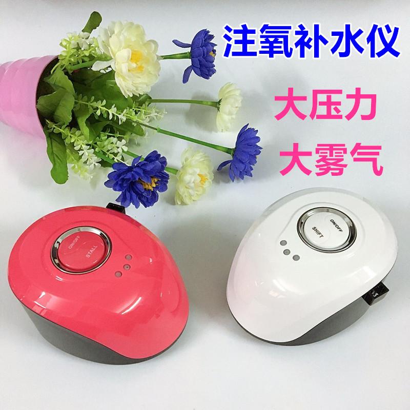 面部注水注氧仪家用无针高压韩国皮肤水氧仪补水喷雾机美容院仪器