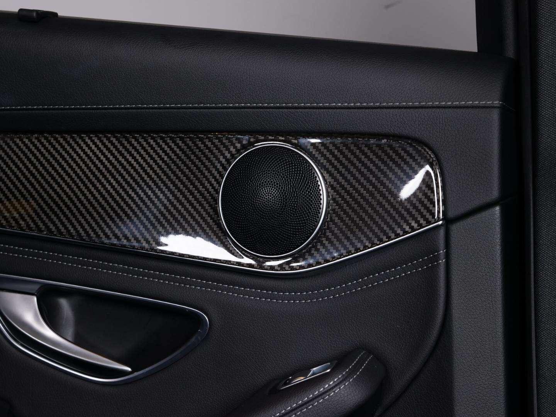 奔驰新C级GLC中控面板保护膜C180L/C200L/GLC260改装内饰碳纤维