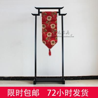新中式衣帽架落地实木卧室挂衣架木质立式衣服架简易展示架日式是什么档次