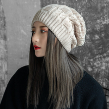 Hats, women, winter, Korean, student, hats, sweaters, sweaters, knitwear, knitted caps, ears, fashion and warmth.