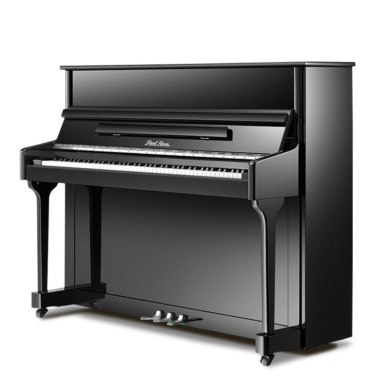 正品品牌大人初学者入门家用全新真钢 pearlriver UP118F1 珠江钢琴